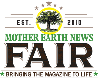 Mother Earth News Fair LIVE Saturday from Belton, Tex.! Logo