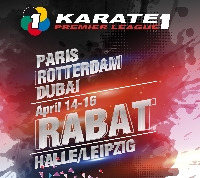 Karate 1 - Premier League Rabat 2017 Logo