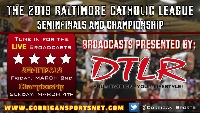 Baltimore Catholic League Finals Logo
