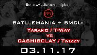 RAM Tap Team: Yaramo / T-Way  vs  CASHISCLAY / Twizzy Logo