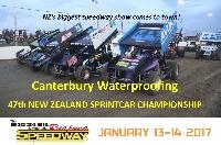 New Zealand Sprint Cars Night 1 Logo