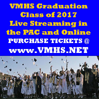 VMHS Class of 2017 Graduation Ceremony • NOT VALID FOR STADIUM ENTRY Logo
