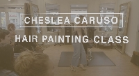 LIVE STREAM of Chelsea Caruso Balayage Hair Painting Class Logo
