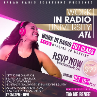 Work in Radio 101 - The Get The Job Workshop Atlanta Logo