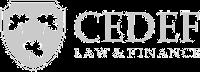 CEDEF LAW - Actualización Profesional 2017 - Dolares US $160 Logo