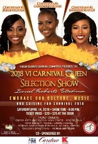 2018 Queen Show Selection Logo