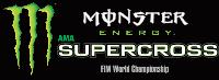 Round #3: Anaheim, CA 2017 Monster Energy Supercross Live Race Logo