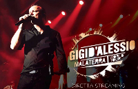 Gigi D'Alessio - Rome  April 9th, 2016 Logo