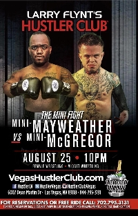 MidgetMania - Mini Mayweather vs Mini McGregor Logo