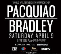 Manny Pacquiao v Tim Bradley Logo
