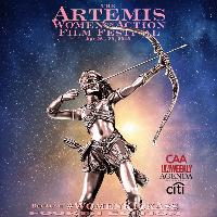 Artemis Women in Action Film Festival 2018, KICKIN' ASS TAKIN' NAMES Logo