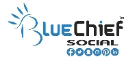 Content Strategy with BlueChief Social Logo