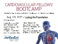 Cardiovascular Fellows Boot Camp - Vascular Surgery 2017 Day 1 Logo