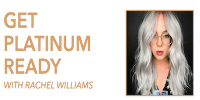 GET PLATINUM READY WITH RACHEL WILLIAMS Logo