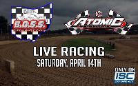 B.O.S.S. Racing: Atomic Speedway Logo