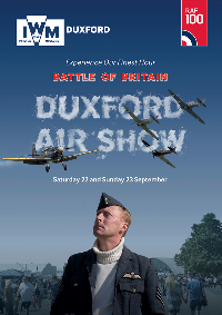 [REPLAY] Duxford Battle of Britain Airshow 2018 [DAY 1 - SATURDAY] Logo