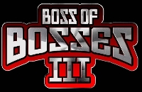 Boss of Bosses 3: Day 2 (invitational) Logo