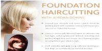 Foundation Hair Cutting with Jordan Downs Logo