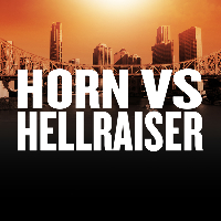 Battle of Brisbane 2: Horn Vs Corcoran Logo
