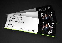 Rise - with John C. Maxwell Logo