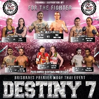 DESTINY 7 MUAY THAI Logo