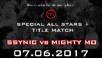 ALL STARS TITLE MATCH: SSYNIC vs MIGHTY MO Logo