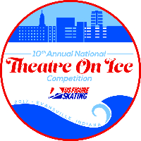 2017 National Theatre on Ice Competition Logo