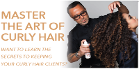 MASTER THE ART OF CURLY HAIR Logo