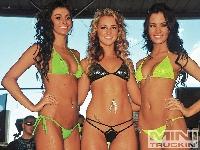 Bikini Girls Showing Off Logo