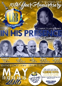 """In """"HIS"""" Presence Conference 2016!!! Logo"""