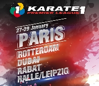Karate 1 - Premier League Paris 2017 Logo