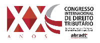 XX CONGRESSO INTERNACIONAL DE DIREITO TRIBUTÁRIO Logo