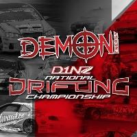 Demon Energy D1NZ Drifting: R1 Dunedin 2016 (Main Compeition & Show) Logo