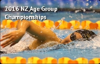 Mayfair Pools 2016 New Zealand Age Groups Championships Logo
