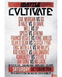 iBattle Presents: CVLTIVATE Logo
