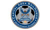 Capital Area RailHawks U14 USSDA vs SC United Battery U14 USSDA Logo