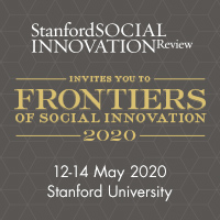 Frontiers of Social Innovation 2021: People, Power & Resources Logo