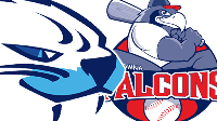 LIVE: Victoria HarbourCats vs Kelowna Falcons Double Header Logo