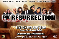 PK RESURRECTION Logo