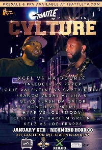 iBattle Presents: CVLTURE Logo