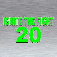 Ignite The Fight 20 Logo