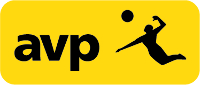 AVP Pro Beach Volleyball Logo