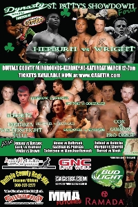 Dynasty Combat Sports 24: St. Patty's Day Showdown Logo