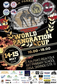 WORLD PANGRATION CUP 2016 Logo