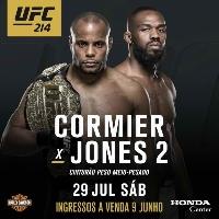 UFC 214 Live Stream Jones vs Cormier 2 Online HD Logo