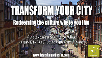 REPLAY Transform Your City 2018 - Northgate Church, Chester. UK Logo
