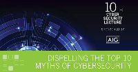 AIG Cyber Security Lecture: Dispelling The Top Myths of Cybersecurity Logo