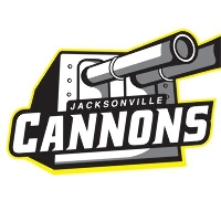Jacksonville Cannons vs Raleigh Flyers Logo