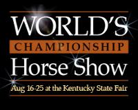 2018 World Championship Horse Show Day 3 - MONDAY, AUGUST 20 Logo