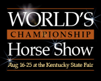 2018 World Championship Horse Show Finals - SATURDAY, AUGUST 25 Logo